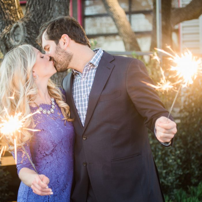 Jacque and Matt's Dallas Engagement